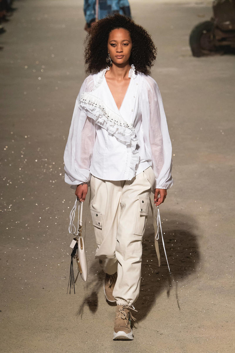 Coach 1941 Spring Summer 2019 New York Fashion Week Show Top White