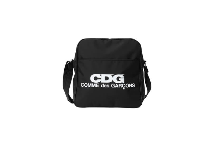 COMME des GARCONS CDG Logo Messenger Bag Black