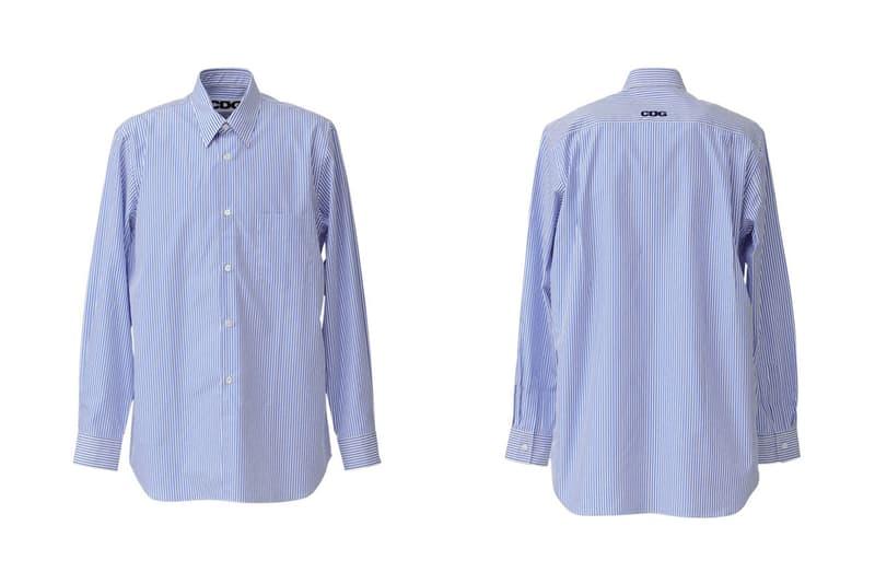 COMME des GARCONS CDG Collared Shirt Blue