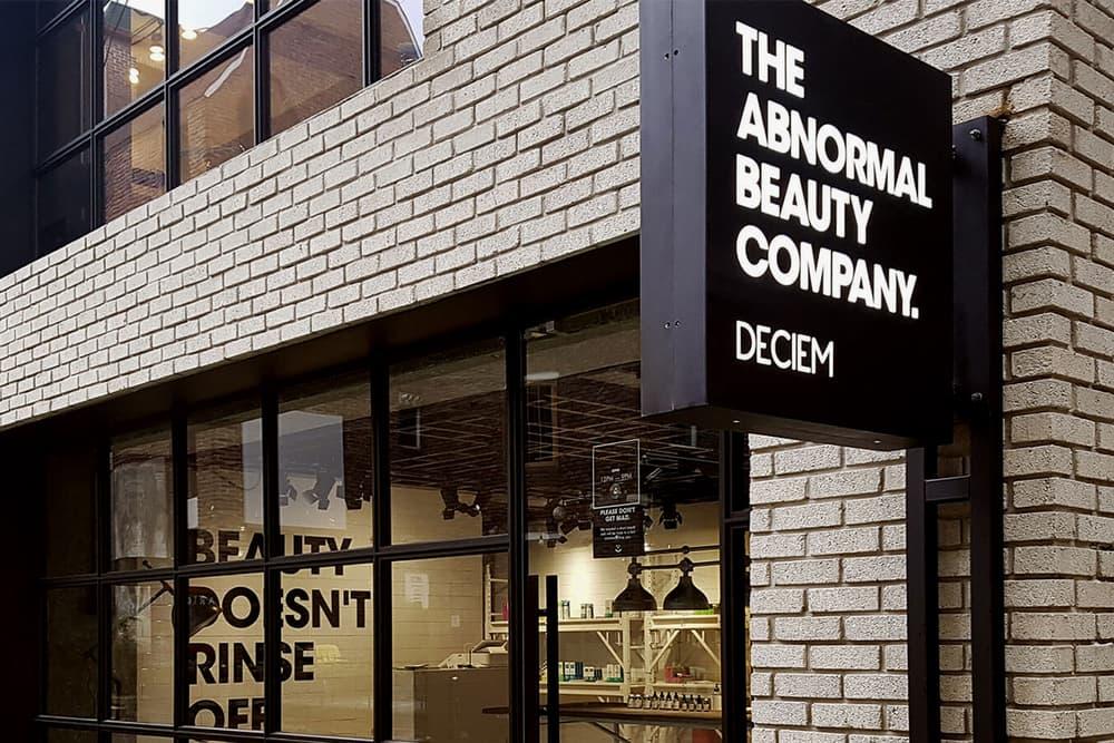 DECIEM Abnormal Beauty Company The Ordinary Store Shop Interior Exterior