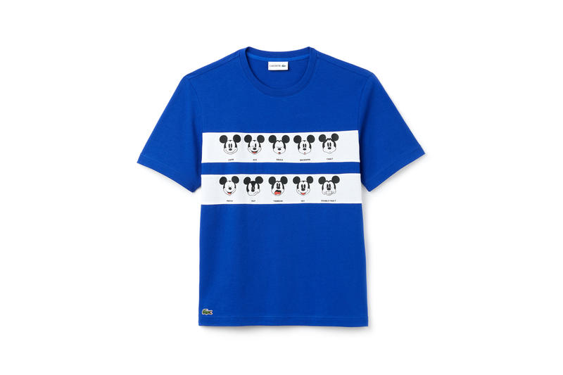 Disney x LACOSTE Capsule Collection Mickey Mouse T-shirt Blue