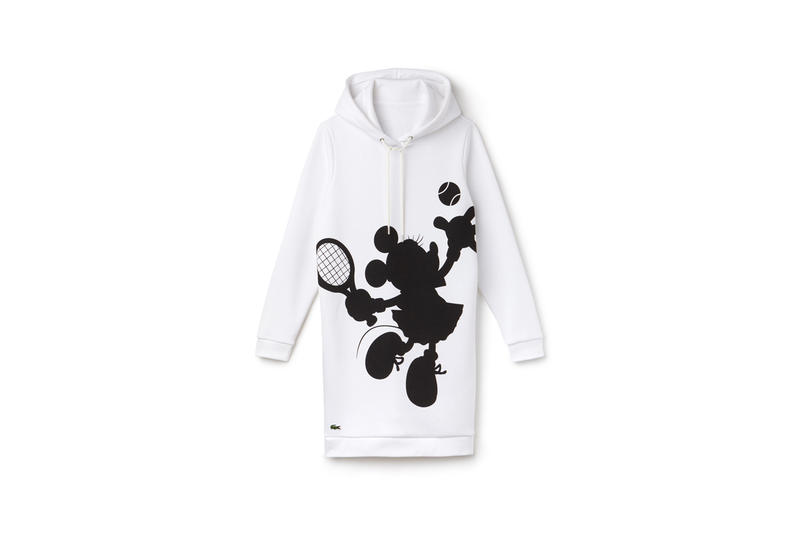 Disney x LACOSTE Capsule Collection Minnie Mouse Hoodie White