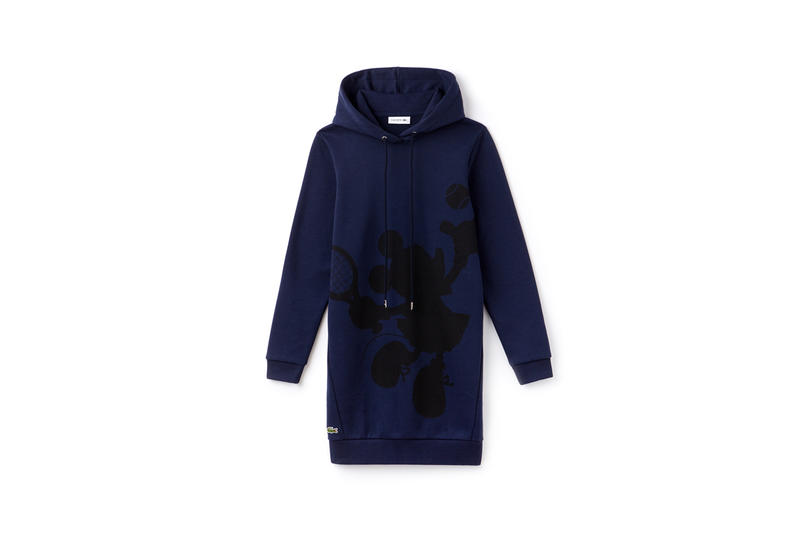 Disney x LACOSTE Capsule Collection Minnie Mouse Hoodie Blue