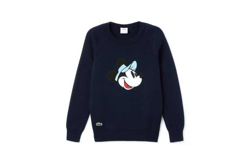 Disney x LACOSTE Capsule Collection Minnie Mouse Sweatshirt Blue