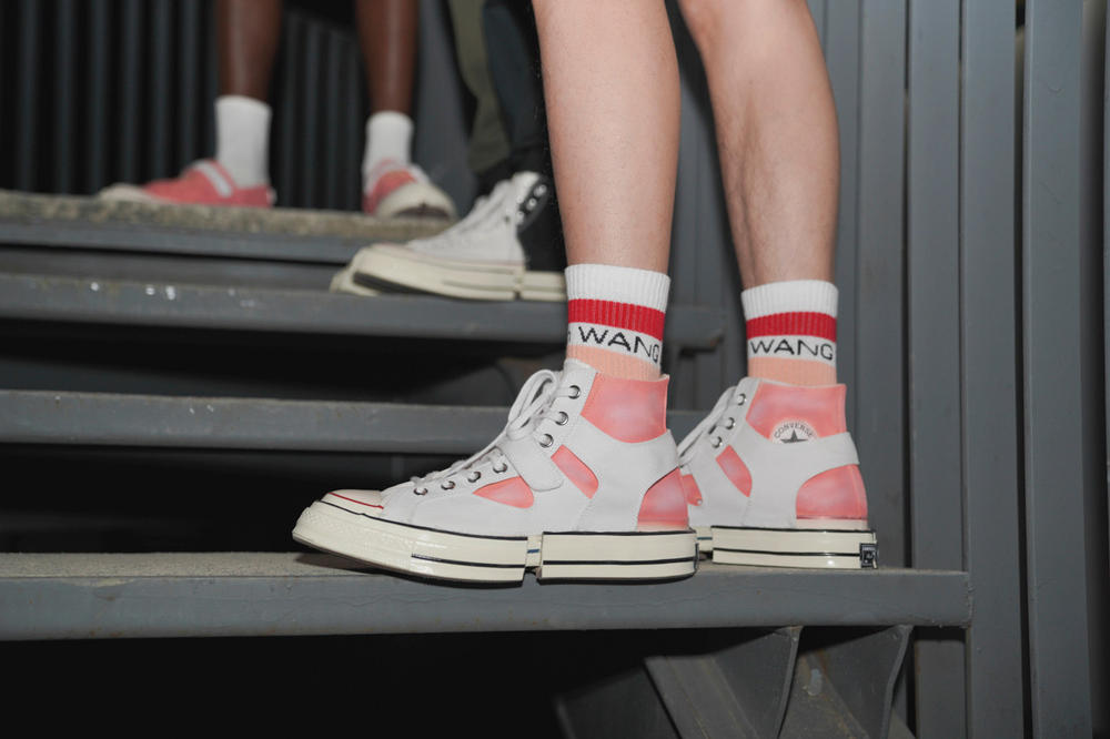 Feng Chen Wang x Converse Chuck Taylor All Star Spring Summer 2019 Collaboration White Red Pink