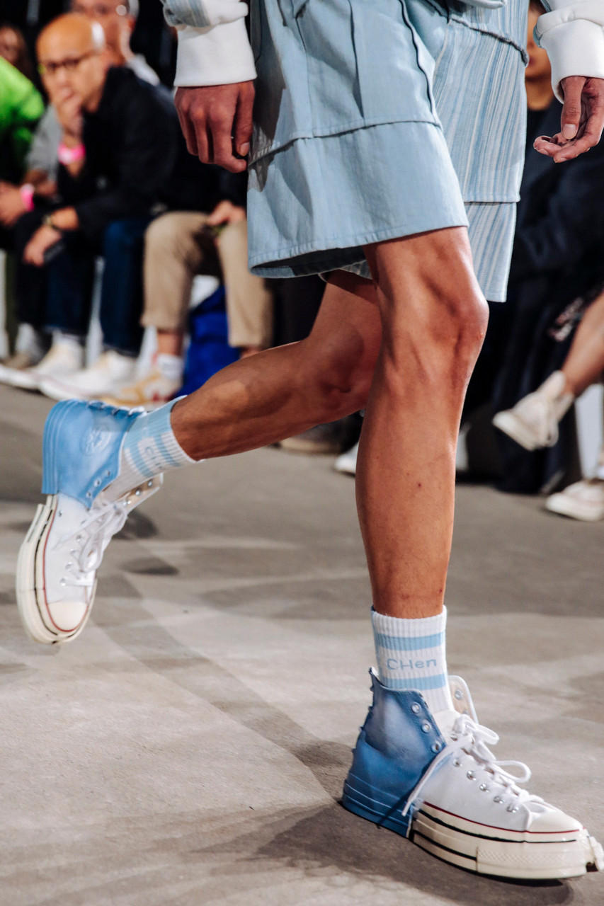 Feng Chen Wang x Converse Chuck Taylor All Star Spring Summer 2019 Collaboration White Light Blue