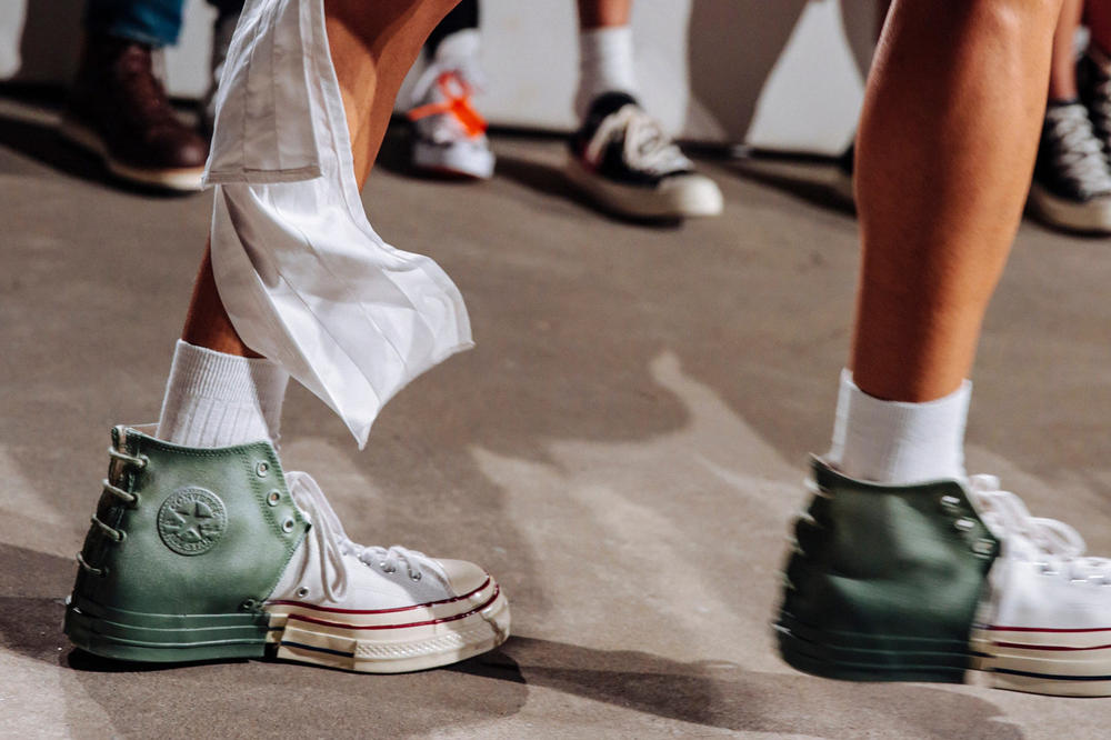 Feng Chen Wang x Converse Chuck Taylor All Star Spring Summer 2019 Collaboration White Green