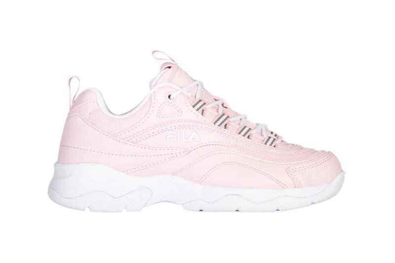 FILA Ray Chalk Pink White
