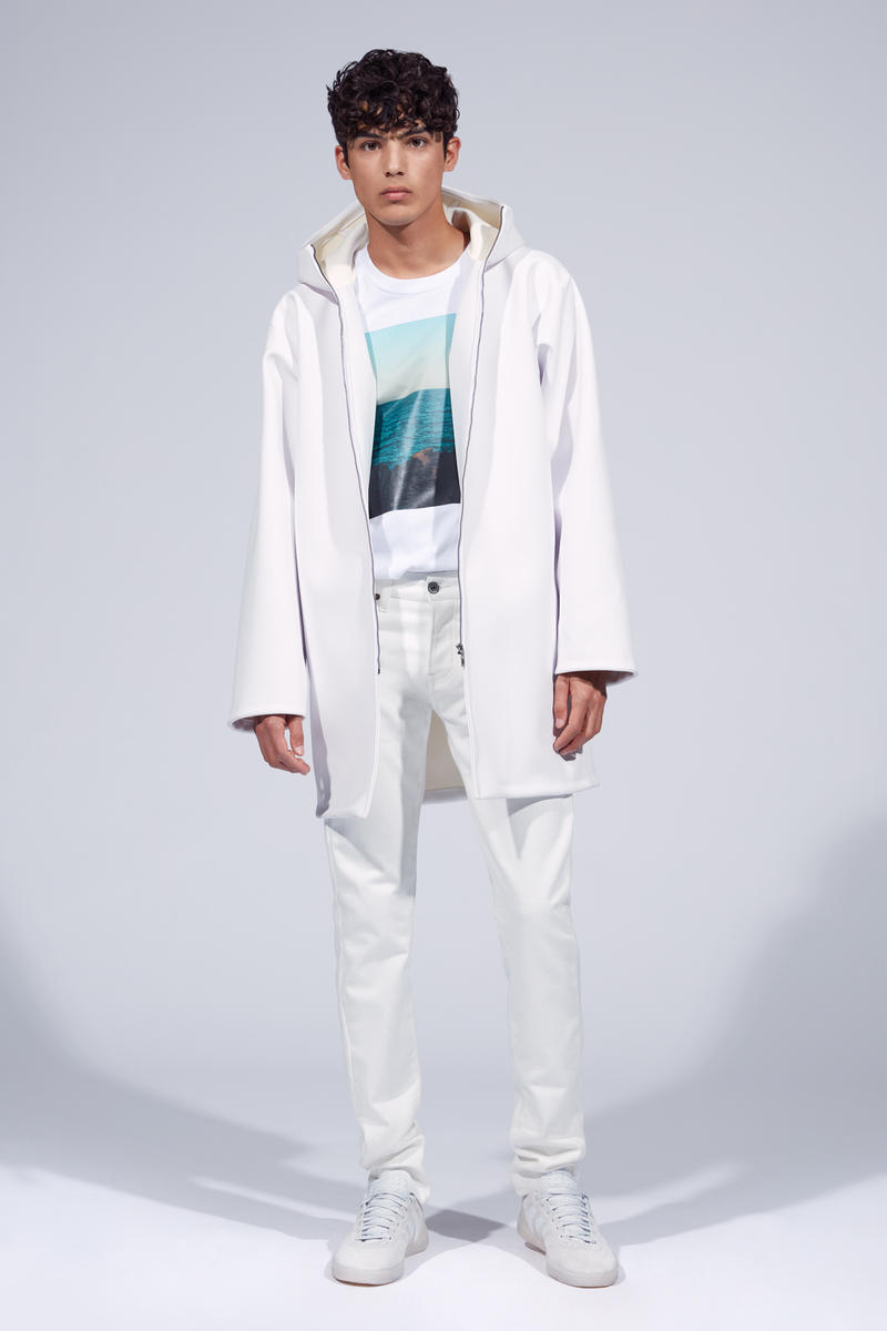 Fiorucci Spring Summer 2019 Collection Lookbook Jacket Shirt Pants White