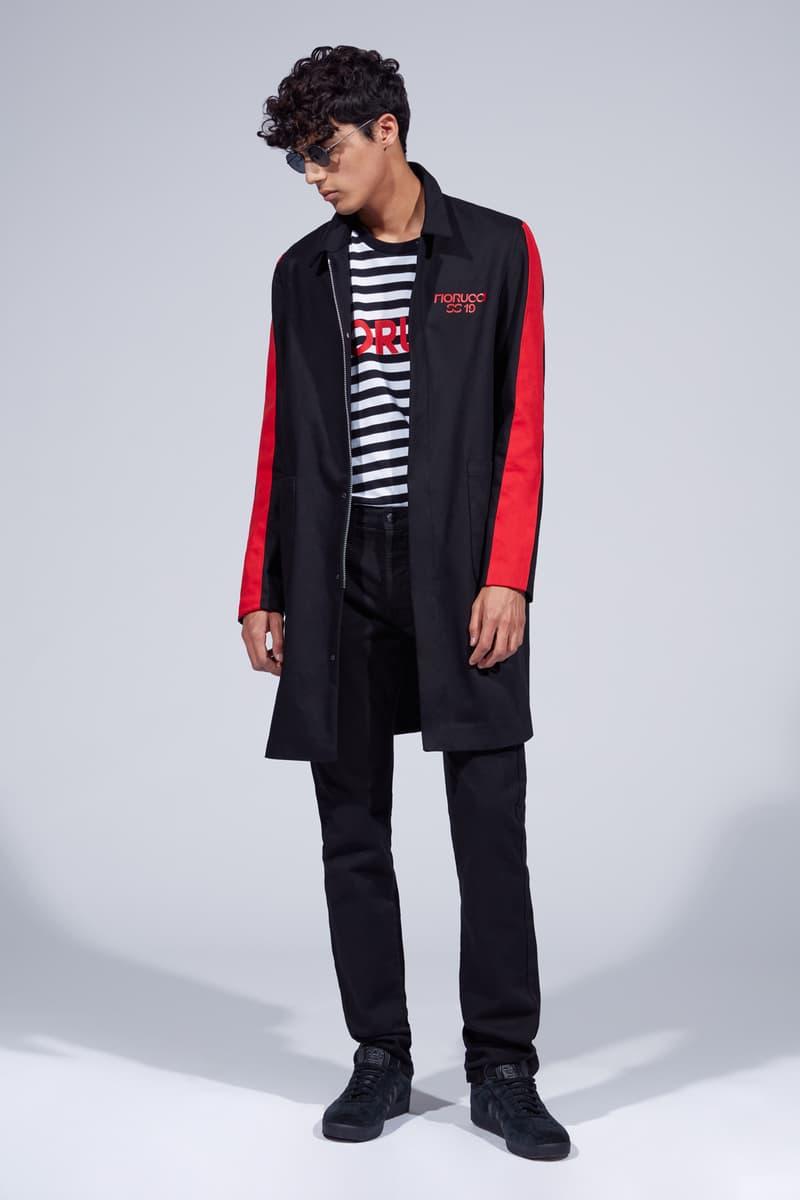 Fiorucci Spring Summer 2019 Collection Lookbook Jacket Pants Black
