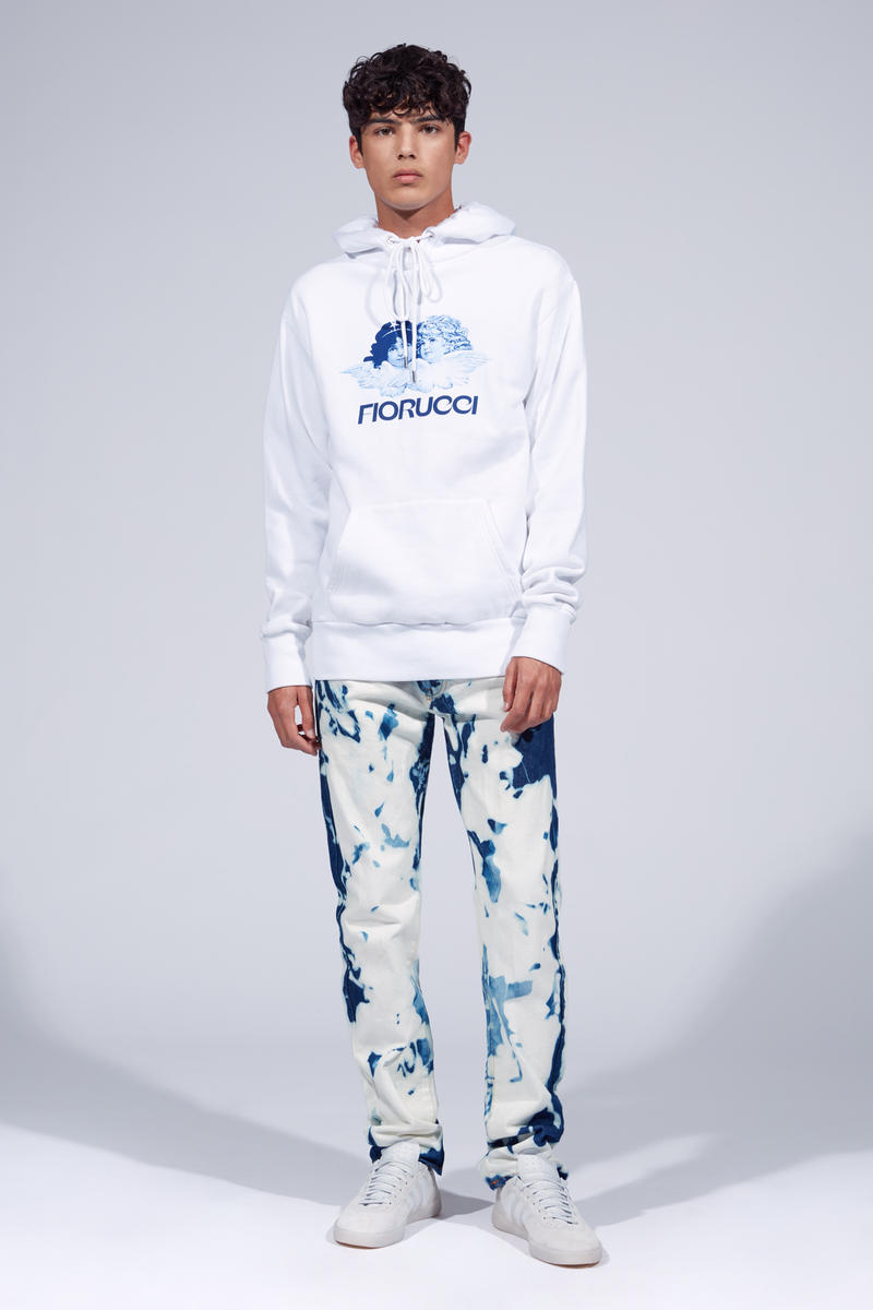 Fiorucci Spring Summer 2019 Collection Lookbook Hoodie White