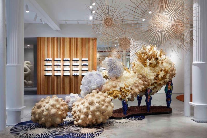 Gentle Monster Flagship Store New York City NYC Design Interior Art Sculpture Experience Korean Label Eyewear