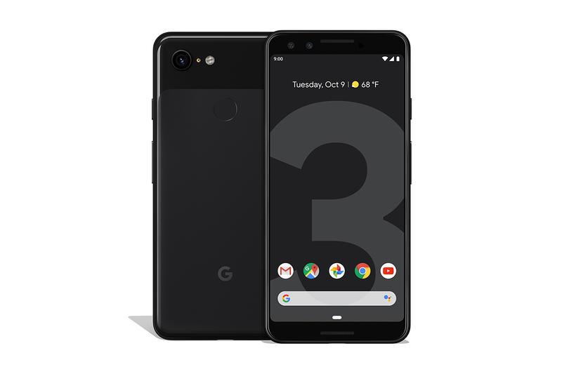 Google Pixel 3 3XL Not Pink Just Black Cleary White Pre Order Smartphone