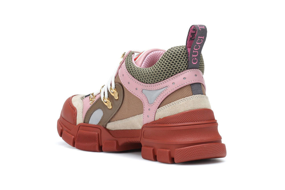 Gucci Flashtrek Sneaker Pink Brown
