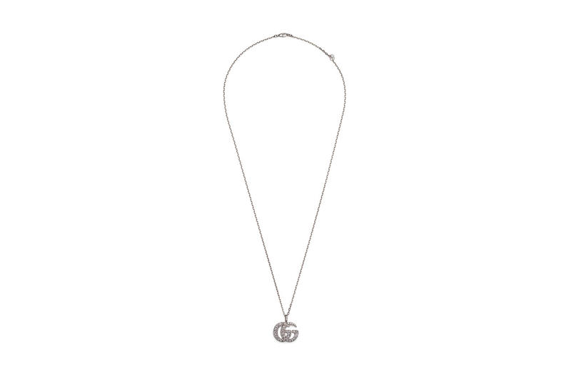 Gucci GG Running Necklace Bracelet