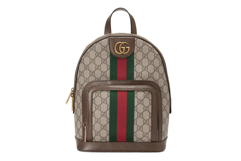 Gucci Ophidia Retro GG Print Supreme Mini Backoack