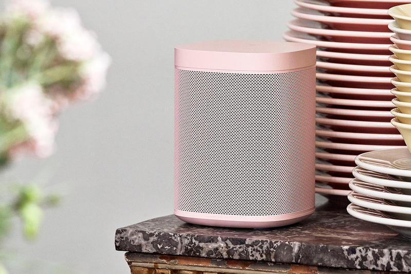 HAY Sonos One Speakers Pink Yellow Red Green Grey