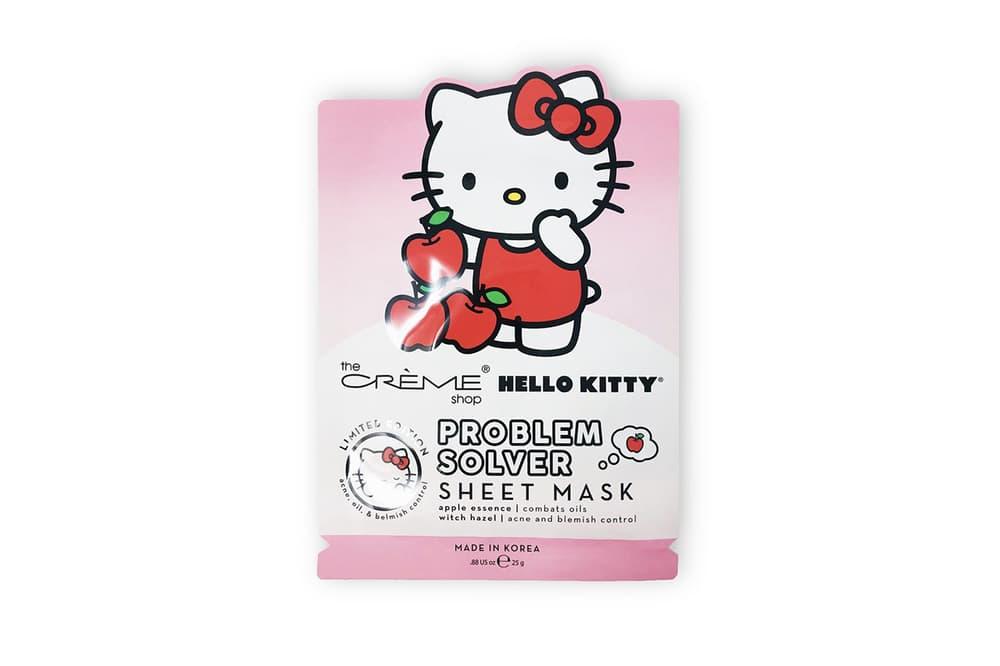 Hello Kitty x The Crème Shop Sheet Mask Sanrio Lip Balm Bath Bomb Cream Gudetama Chococat My Melody Collaboration