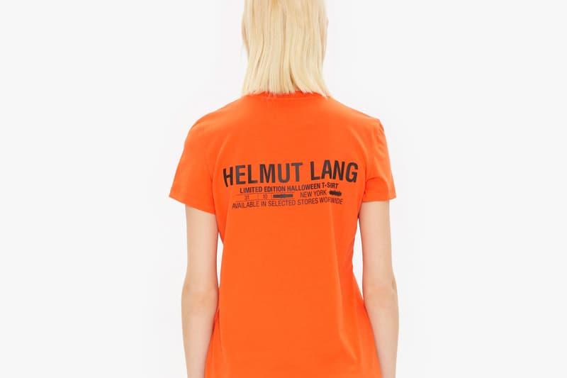 Helmut Lang Halloween 2018 Hoodies T Shirt