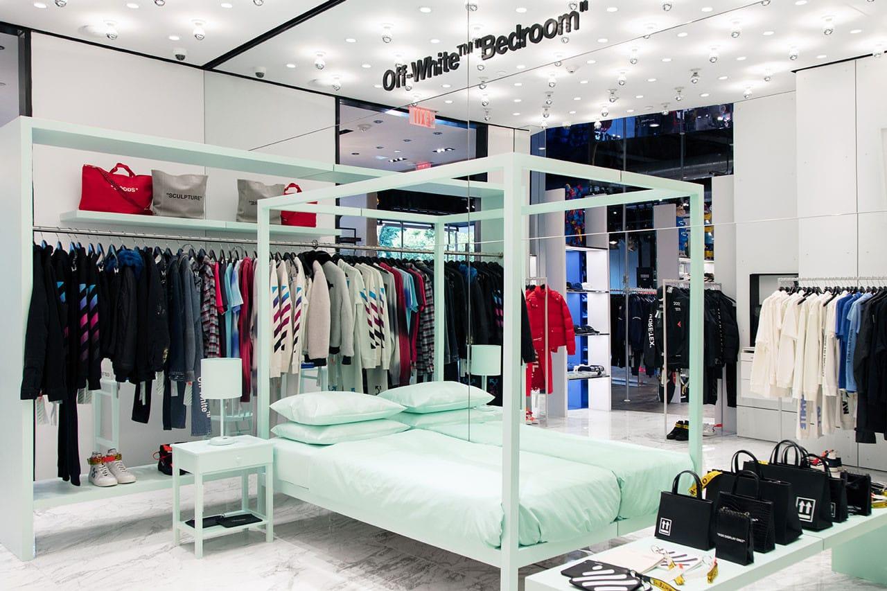 Beautiful Off White Virgil Abloh Bedroom Hirshleifers Shop New York