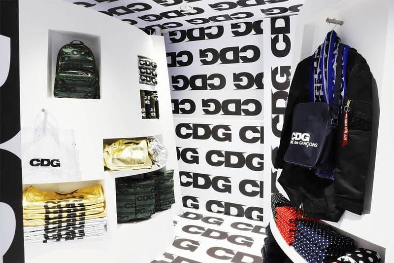 CDG Dover Street Market Installation