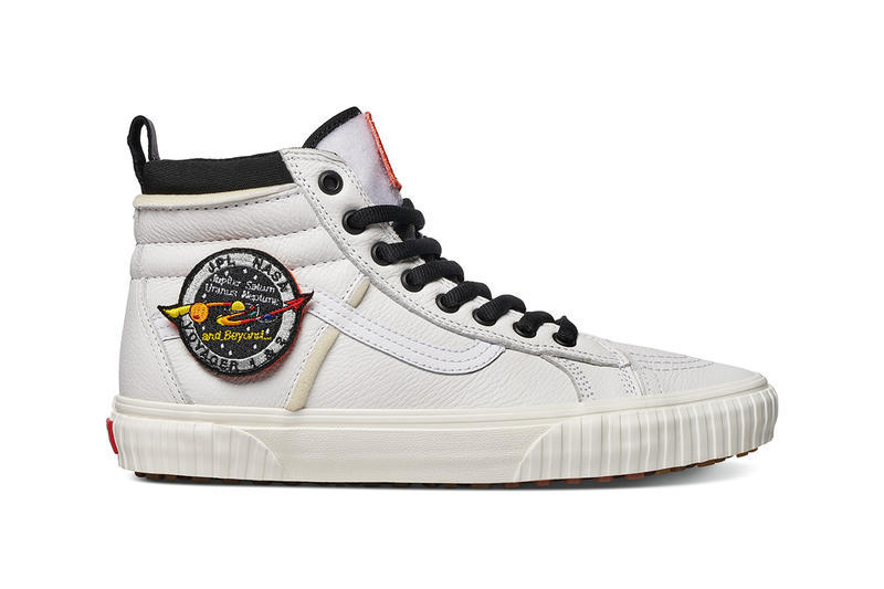 NASA Vans Old Skool Sk8 Hi Space Voyager