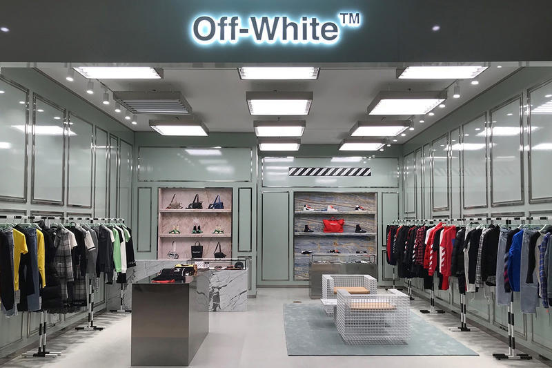 Off White Busan Shinsegae Store