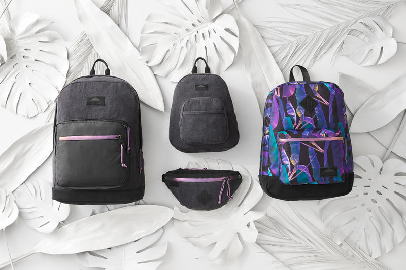 JanSport TropGoth Collection Right Pack LS Half Pint LS Mini Super FX LS Backpack Oaktown Fanny Pack