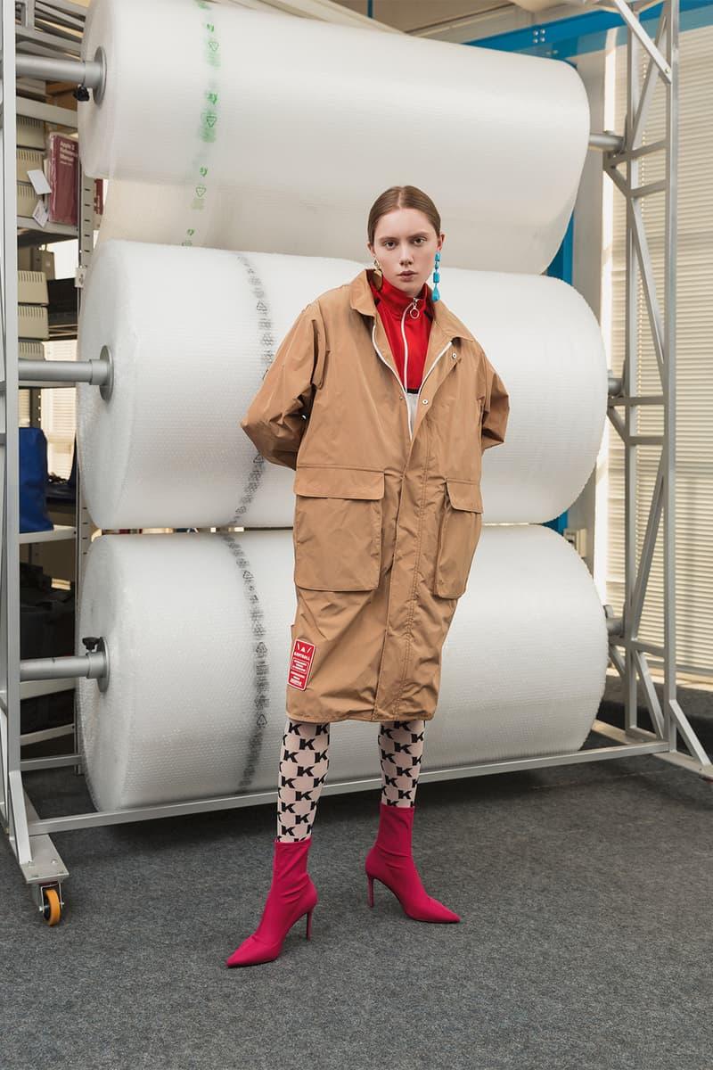 kappa kontroll first womenswear collection fall winter 2018 fw18 tracksuits outwear parka skirts