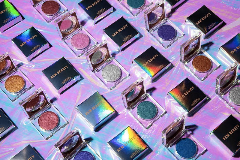 KKW Beauty Flashing Lights Powder Collection Kim Kardashian 2018