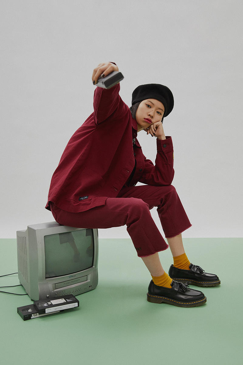 Lazy Oaf Daria '90s MTV Apparel Collaboration T-Shirt Jacket Jeans Bag Pins Cardigan Collection
