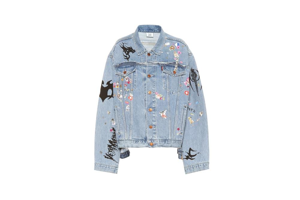 Levi's x Vetements Denim Jacket Blue