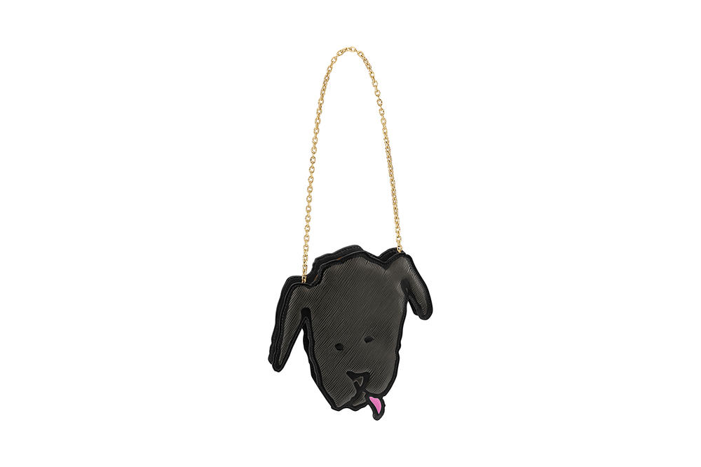 Louis Vuitton Grace Coddington Cruise 2019 Collaboration Dog Chain Bag
