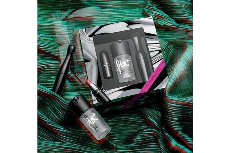 MAC Holiday 2018 Makeup Collection Mini Set Mascara, Lippi, Fix Plus