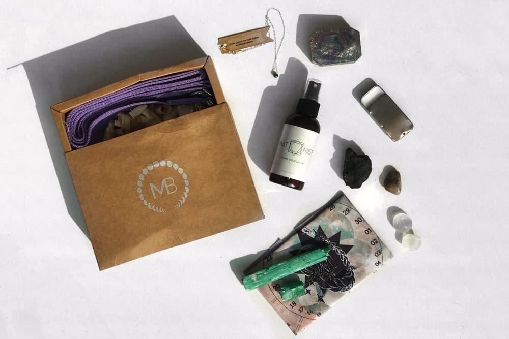 MoonBox Monthly Subscription Wellness Box Astrology Mindfulness Crystal Meditation