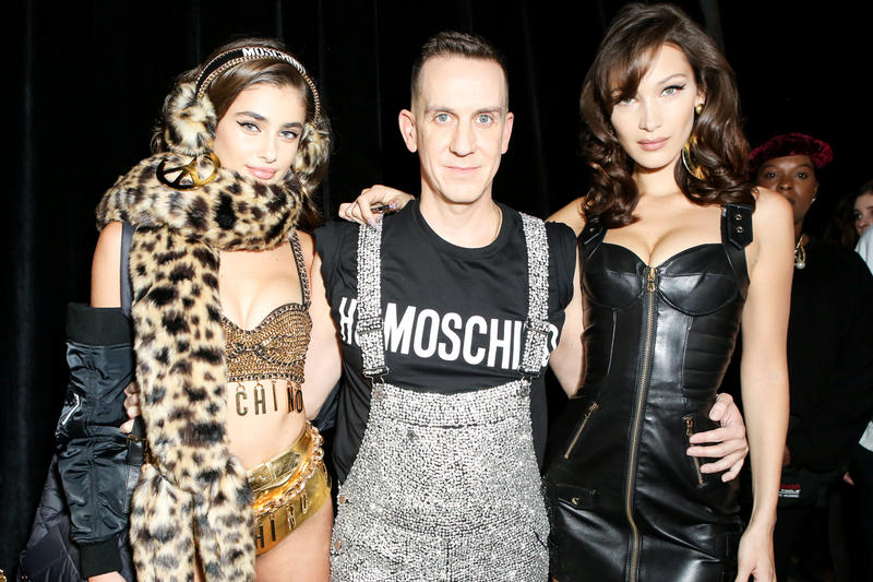 Moschino x H&M Collection Backstage Look Jeremy Scott Bella Hadid