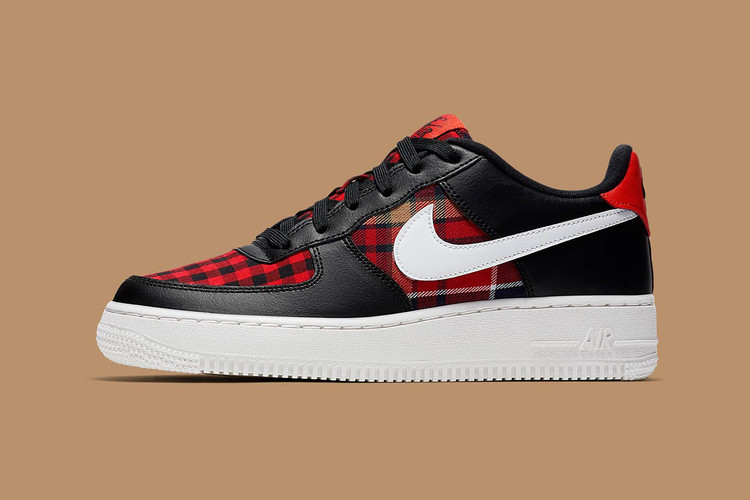 89c4081bf91 Nike s Air Force 1 Gets Redesigned With a Fall-Ready Plaid Pattern
