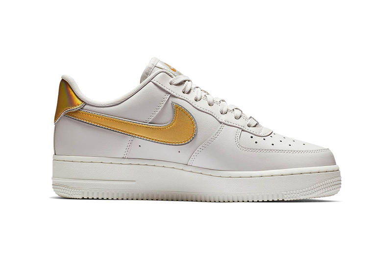 Nike Air Force 1 Low Vast Grey Metallic Gold