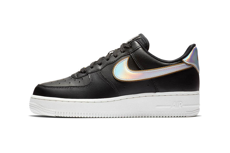 Nike Releases Air Force 1 Low With Metallic Swoosh Hypebae
