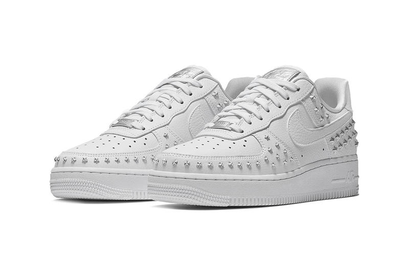 Nike Star Studded Air Force 1 Black White Trainers Sneakers Singles' Day 2018