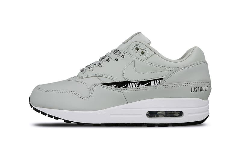 on sale 1b1bc d7fee Nike Air Max 1 SE Light Silver Black