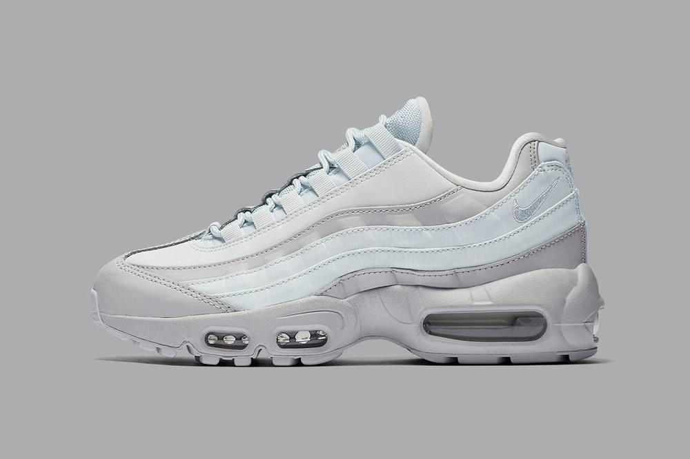 premium selection various design lace up in Nike's Air Max 95 LX in Baby Blue and Gray | HYPEBAE