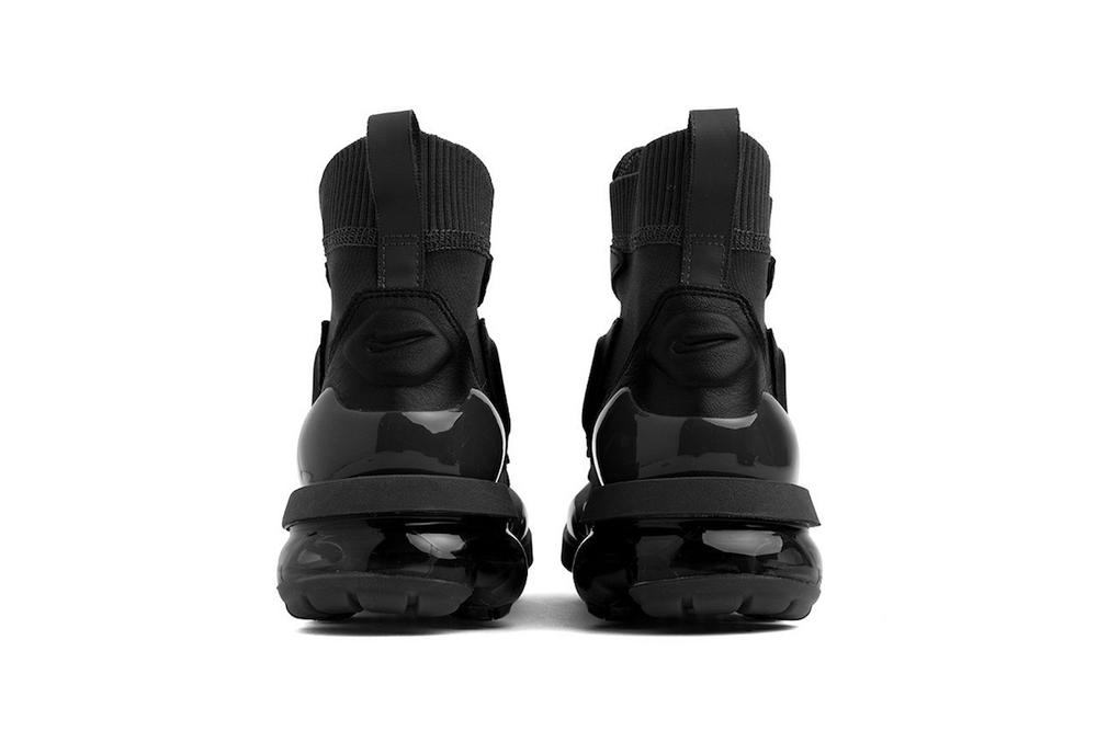 caf936d8dcd05 Nike Air VaporMax Light II Black Khaki Boots Fall Winter Shoe Sneaker Hybrid