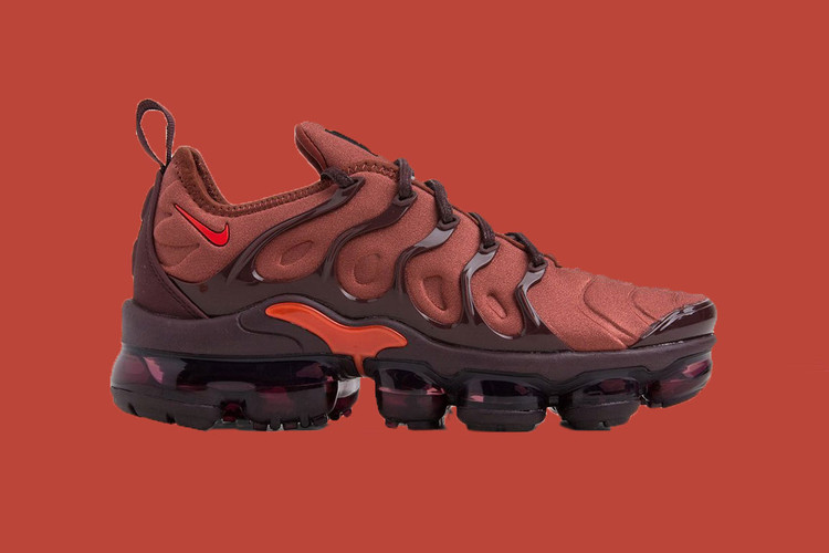 cfa7bb269f77f1 Nike s New Air VaporMax Plus Is for the Pumpkin Spice Latte Lovers