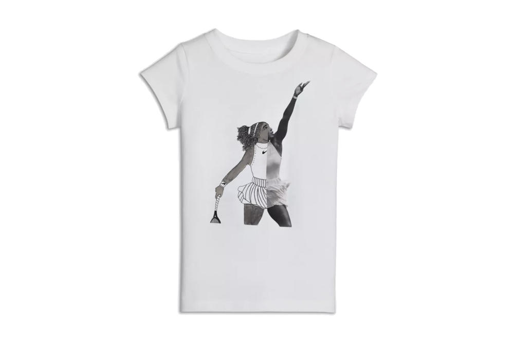 45e5e1f6606 Dear Giana Nike Serena Williams Collaboration Collection International Day  of the Girl T-Shirt Release