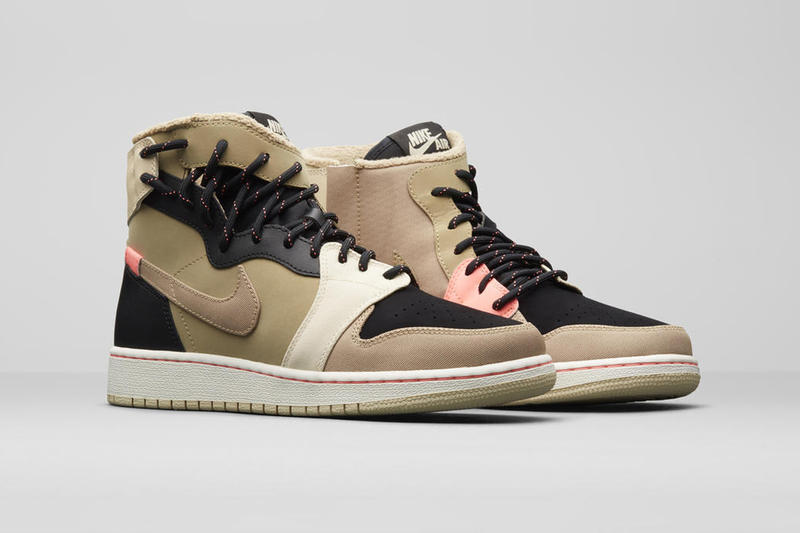 Jordan Brand Holiday 2018 Women's Styles AJ1 Rebel XX Parachute Beige Black