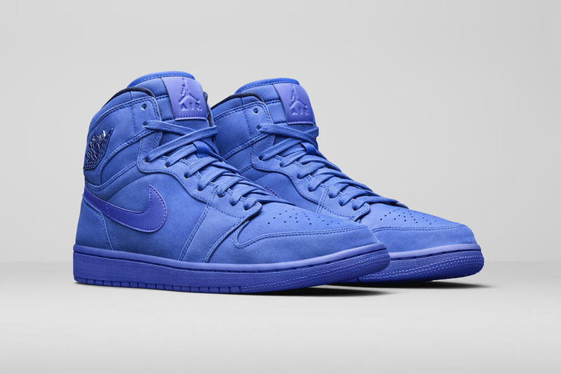 Jordan Brand Holiday 2018 Women's Styles AJ1 High Premium Racer Blue
