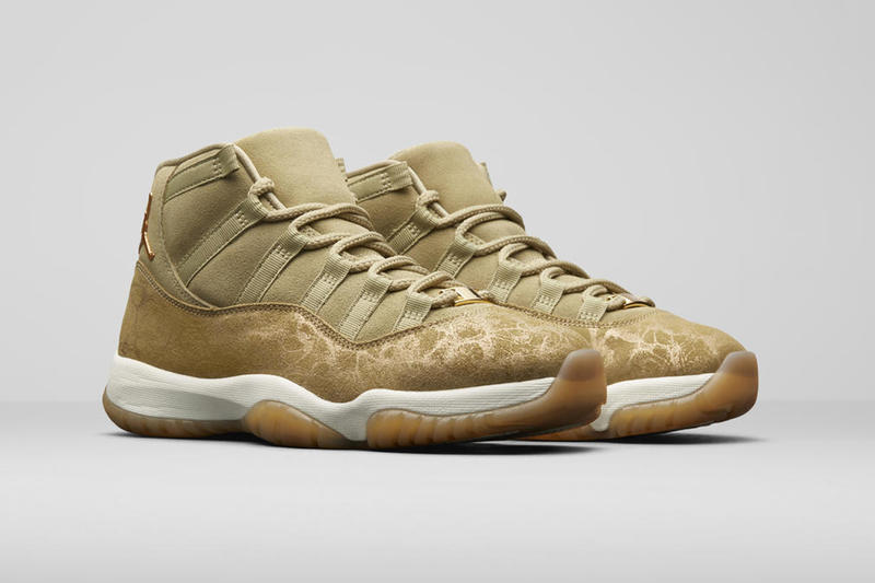 Jordan Brand Holiday 2018 Women's Styles AJXI Olive Lux