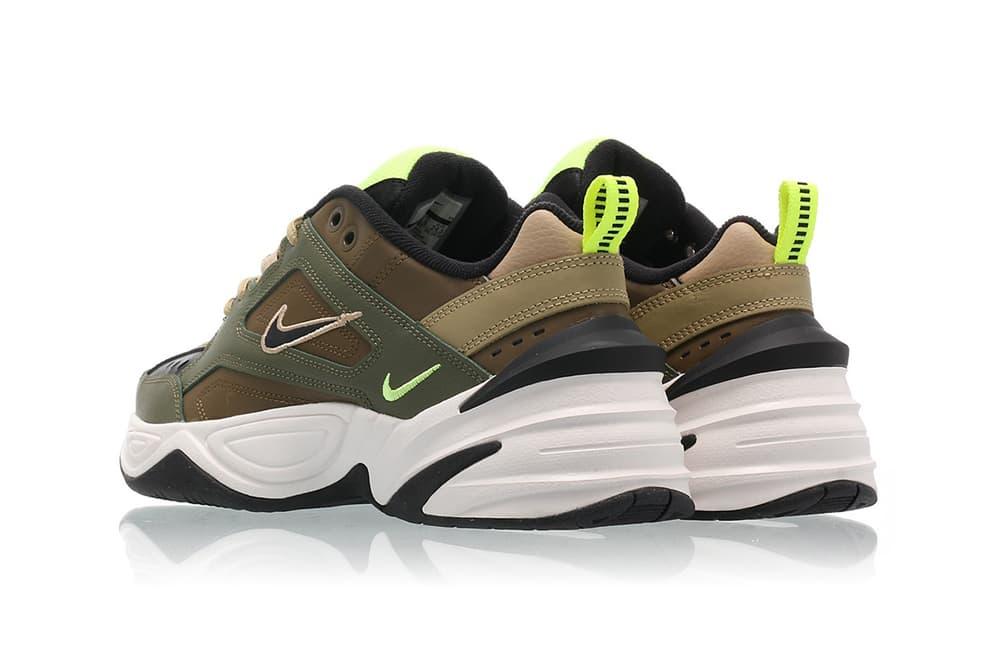Nike M2K Tekno Medium Olive Black