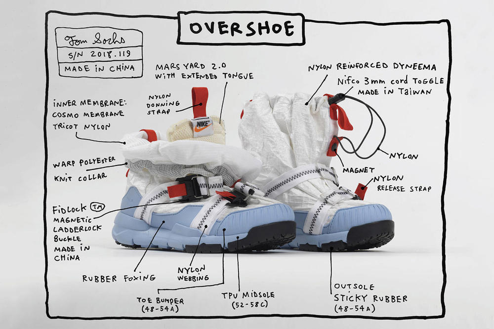 c40f8b4ef7c A Detailed Look at Tom Sachs x Nike s Mars Yard Overshoe